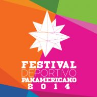 Logo del Festival Deportivo Panamericano 2014