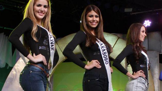 Candidatas al Miss Venezuela